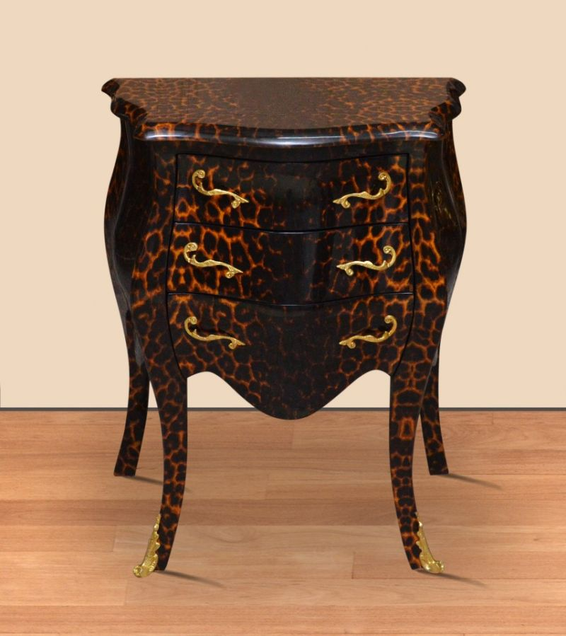 Barok commode panter 60cm