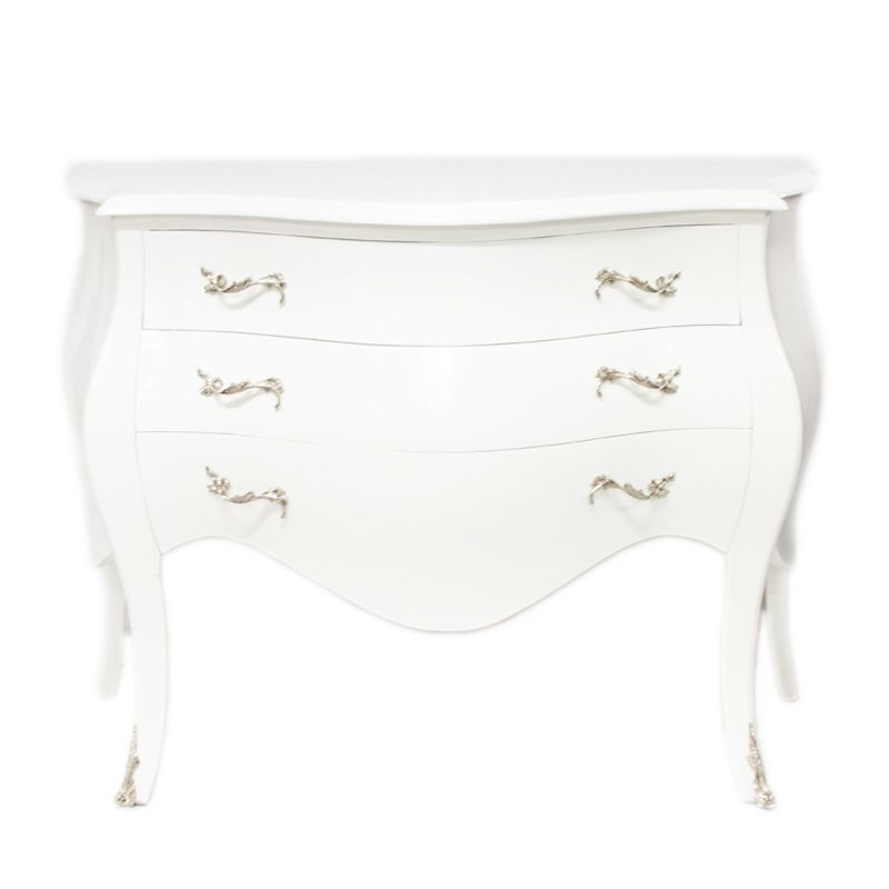 Barok Commode wit