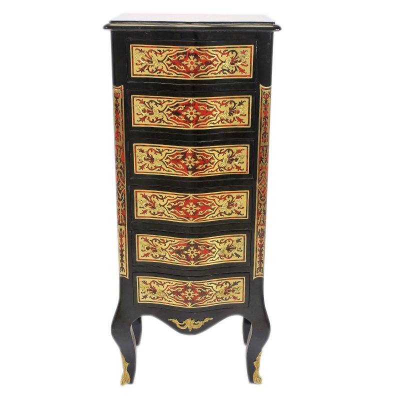 Boulle 7-lade kast