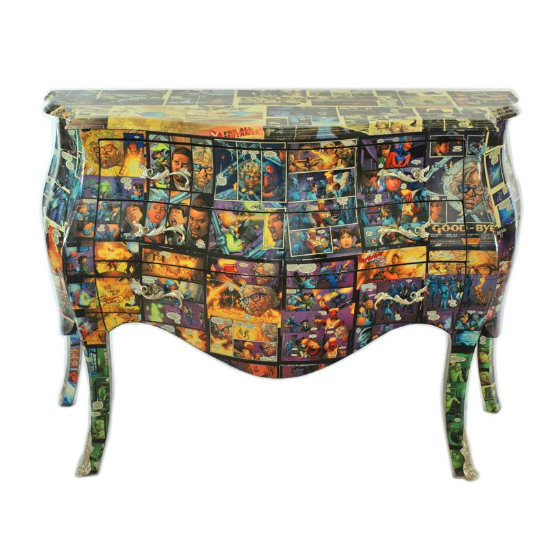 Barok Commode Comic
