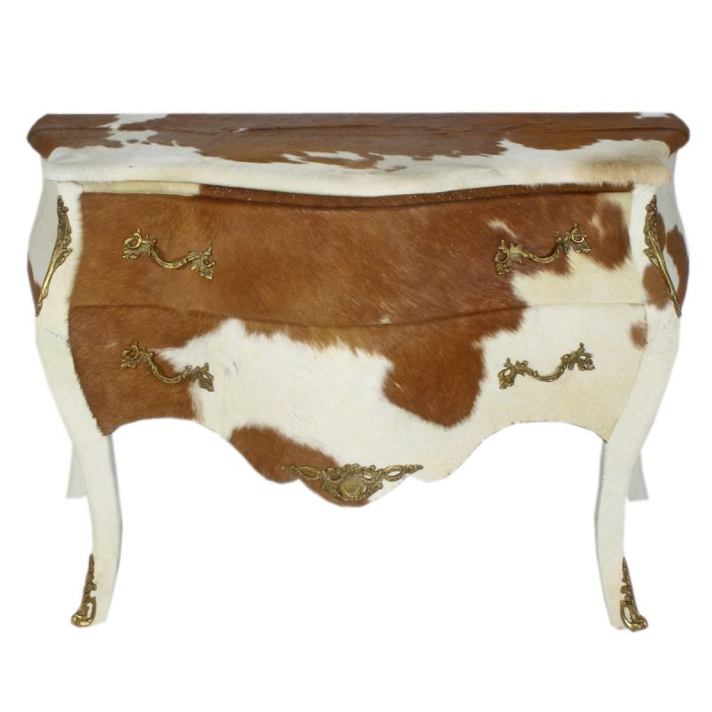 Barok commode koeienhuid